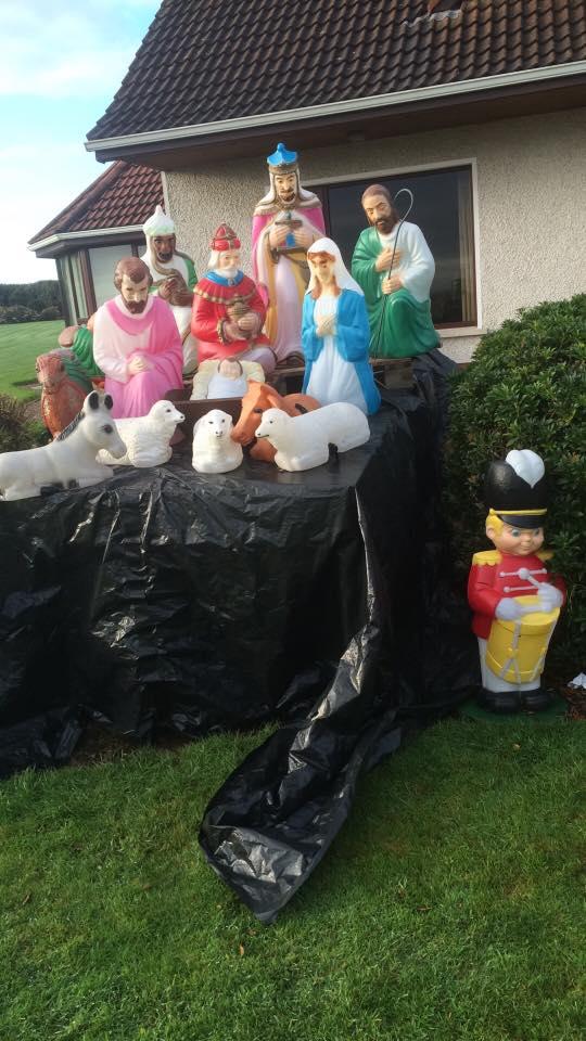 Nativity raised up on LiteDeck
