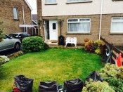 A shot of our lawn which is 3/4 complete - front garden now 1/2 complete