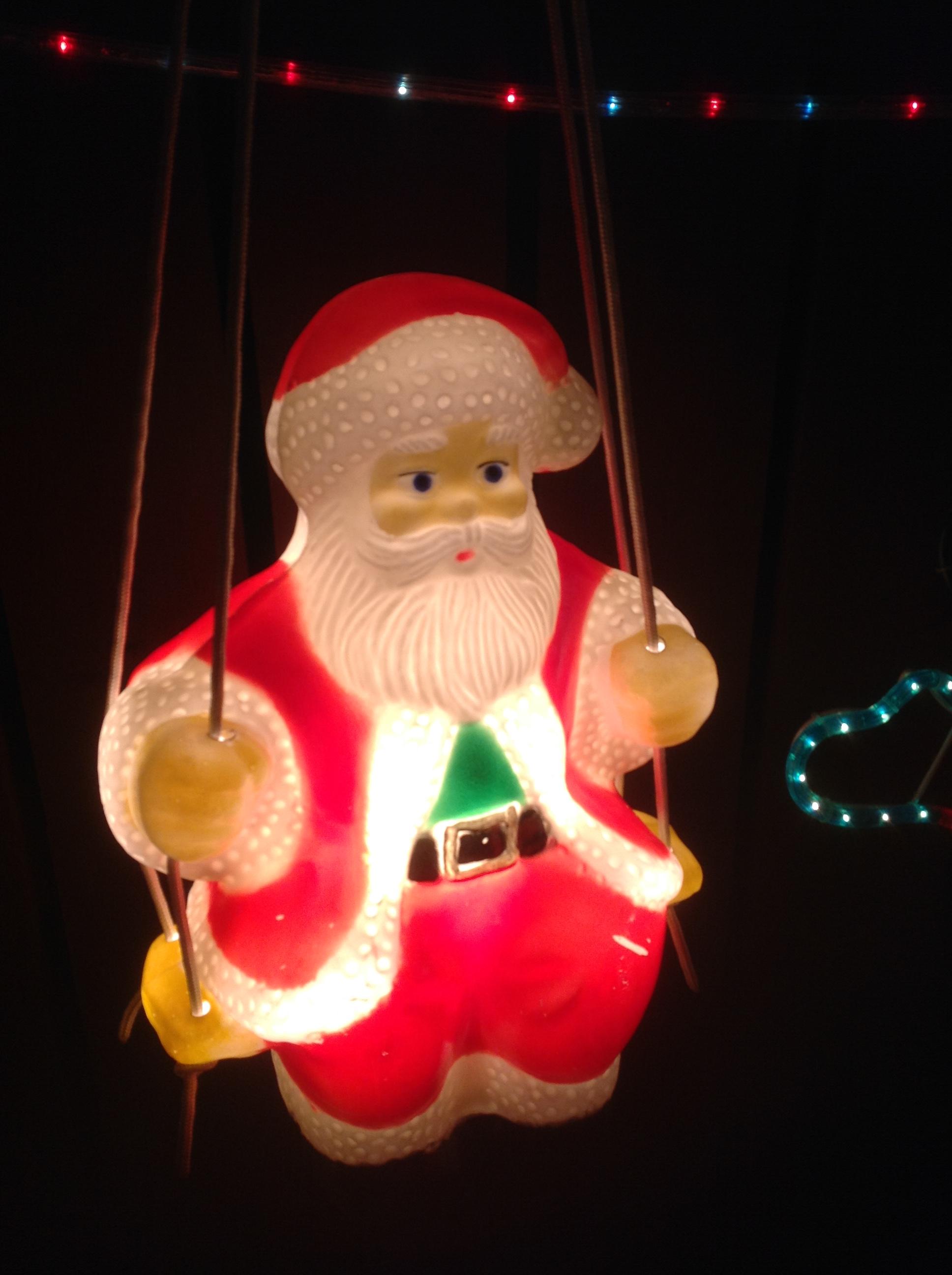 Santa on Swing