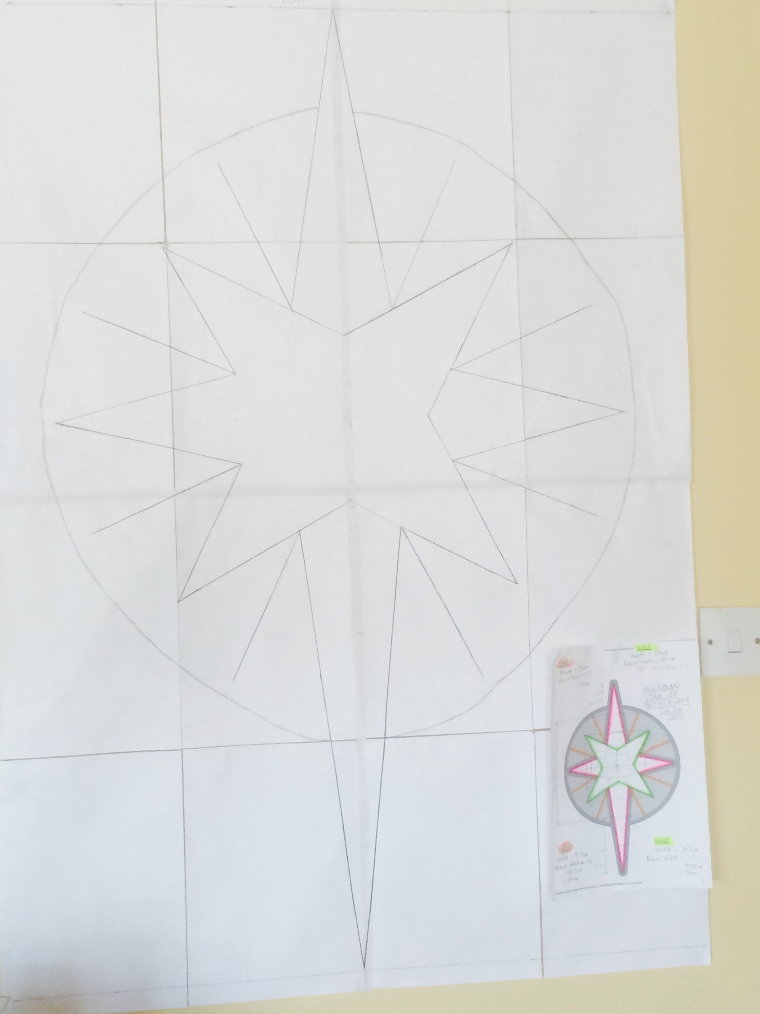 Designing the star
